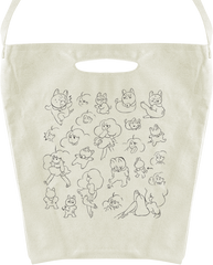 Bee and PuppyCat Sketch Tote Bag