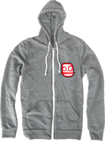 Crunchlins Cartoons Emblem Hoodie (Zip Up)