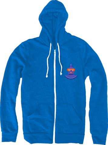The Leaderboard Purple Logo Hoodie