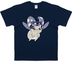 Catbug Men's Fly Catbug Fly! Chromebug T-Shirt