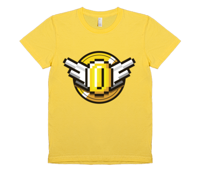 Super Coin Crew Women's Coin American Apparel T-Shirt