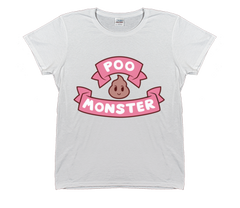 Bee and PuppyCat Women's Poo Monster Logo T-Shirt