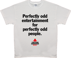 Cartoon Hangover - Odd Men's T-shirt WHITE