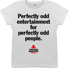 Cartoon Hangover - Odd Women's T-shirt WHITE