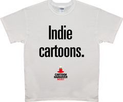 Cartoon Hangover - Indie Men's T-shirt WHITE