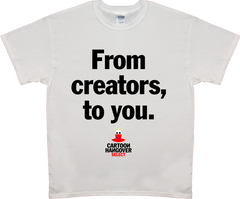 Cartoon Hangover - Creators Men's T-shirt WHITE