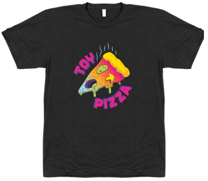 Toy Pizza Men's Logo Tee