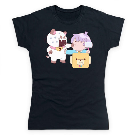 Puppycat and Cardamon Women's T Shirt