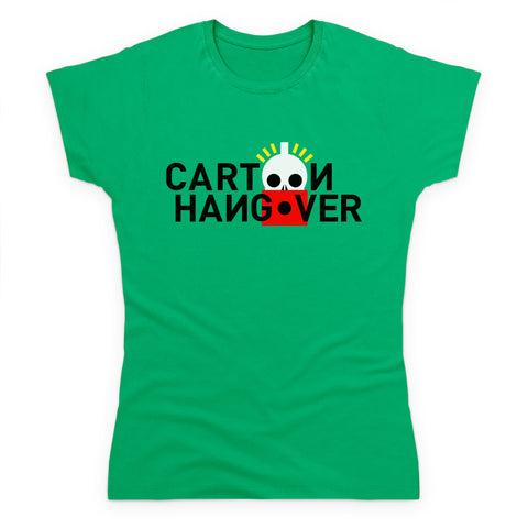 Cartoon Hangover Women's T Shirt