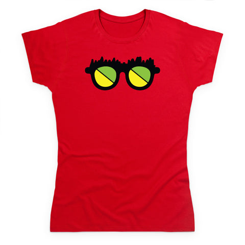Channel Frederator Women's Glasses T-Shirt
