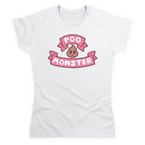 Bee and Puppycat Poo Monster Logo Women's T Shirt