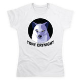 Tony Crynight - Wolf Black Logo Women's T Shirt