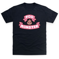 Bee and Puppycat Poo Monster Logo Men's T Shirt