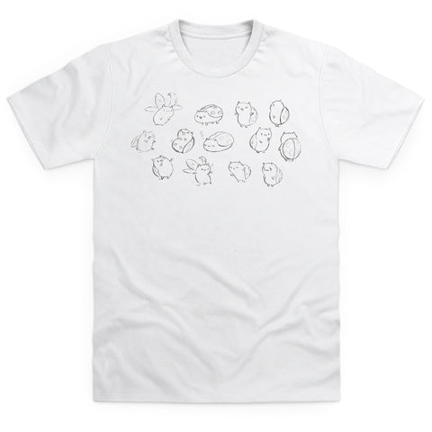 Catbug Sketch Men's T Shirt