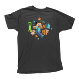Minecraft Run Away! Glow in the Dark Premium Tee