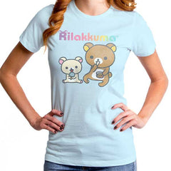 Rilakkuma Women's Snack Time T-Shirt