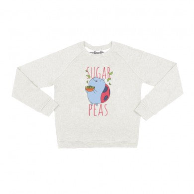 Catbug Women's Sugar Peas! Pullover Sweater