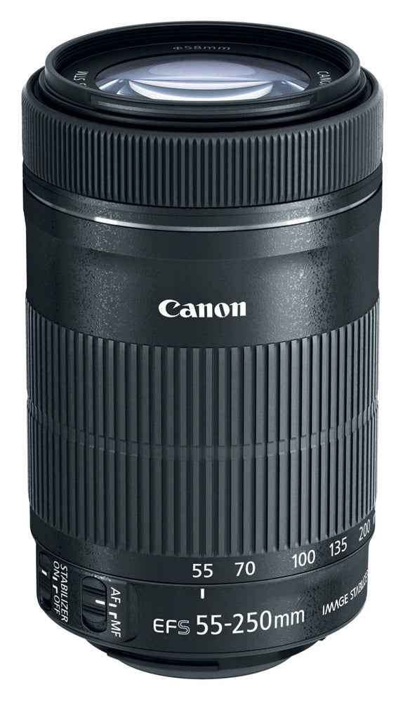 Canon EF-S 55-250mm f/4-5.6 IS STM + EF-S 10-18mm f/4.5-5.6 IS STM