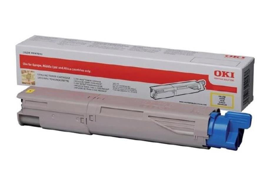 Toner OKI MC87 Yellow