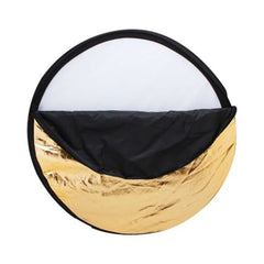 Montana 5-in-1 foldable reflector_gold