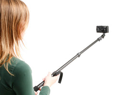 Selfie stick for compacts & mirrorless cameras