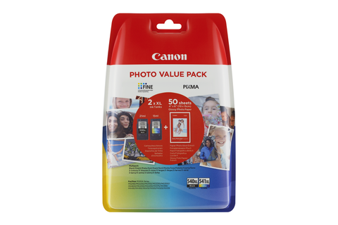 Canon PG540XL/CL541XL Photo Value Pack
