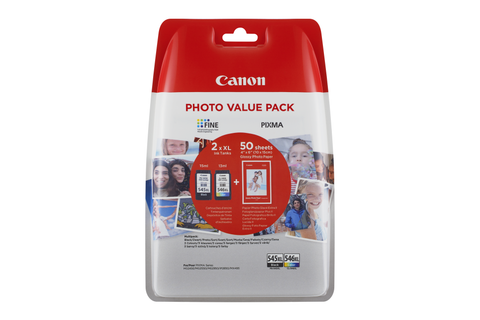 Canon PG545XL/CL546XL Photo Value Pack