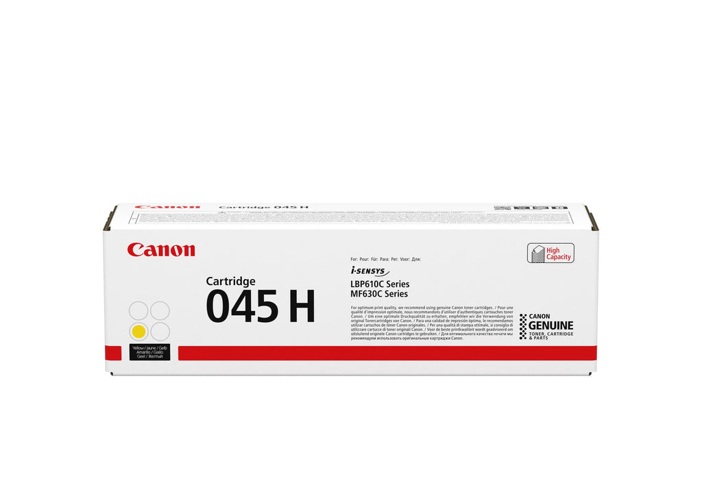 Canon Cartridge 045H Yellow