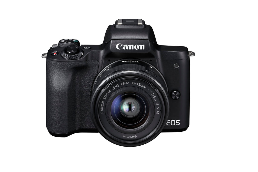 Canon EOS M50  black + EF-M 15-45mm lens