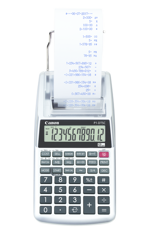 Portable Printing Calculator P1-DTSC