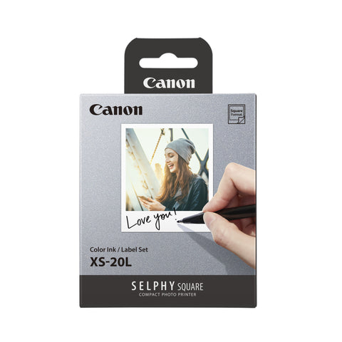 Canon XS-20L square paper for Selphy QX-10