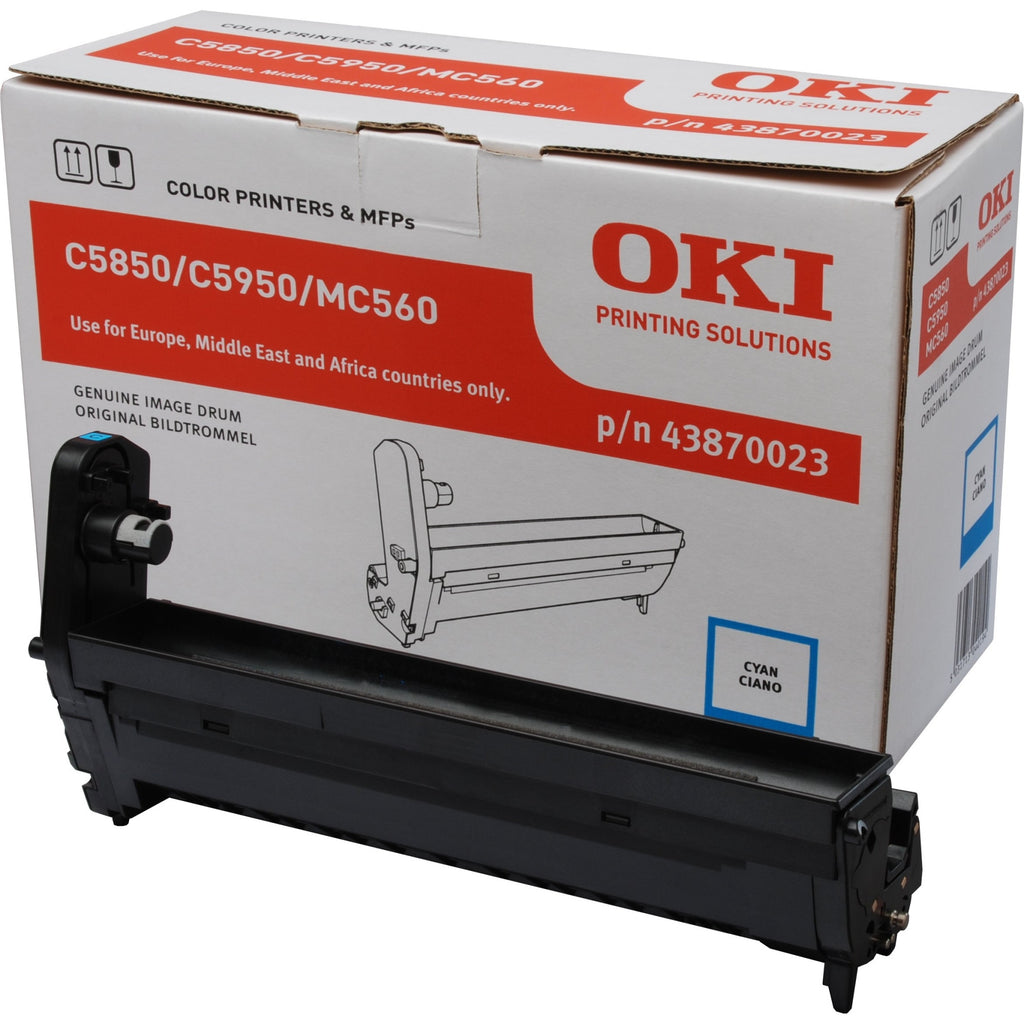 Drum OKI C5850/5950/MC560 Cyan