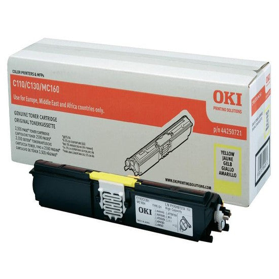 Toner OKI C110/130 - Yellow