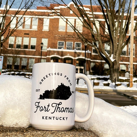 Greetings from FORT THOMAS • KENTUCKY