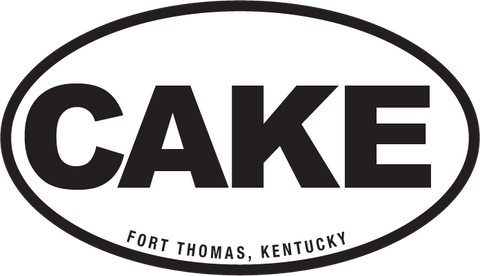CAKE Bumper Sticker