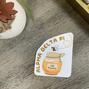 Alpha Delta Pi - Honey Bee Sticker