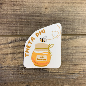 Theta Phi Alpha - Honey Bee Sticker