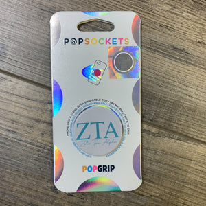 Zeta Tau Alpha - Pop Socket
