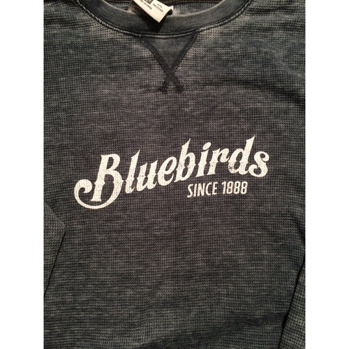 Bluebirds Vintage Long Sleeve Tshirt