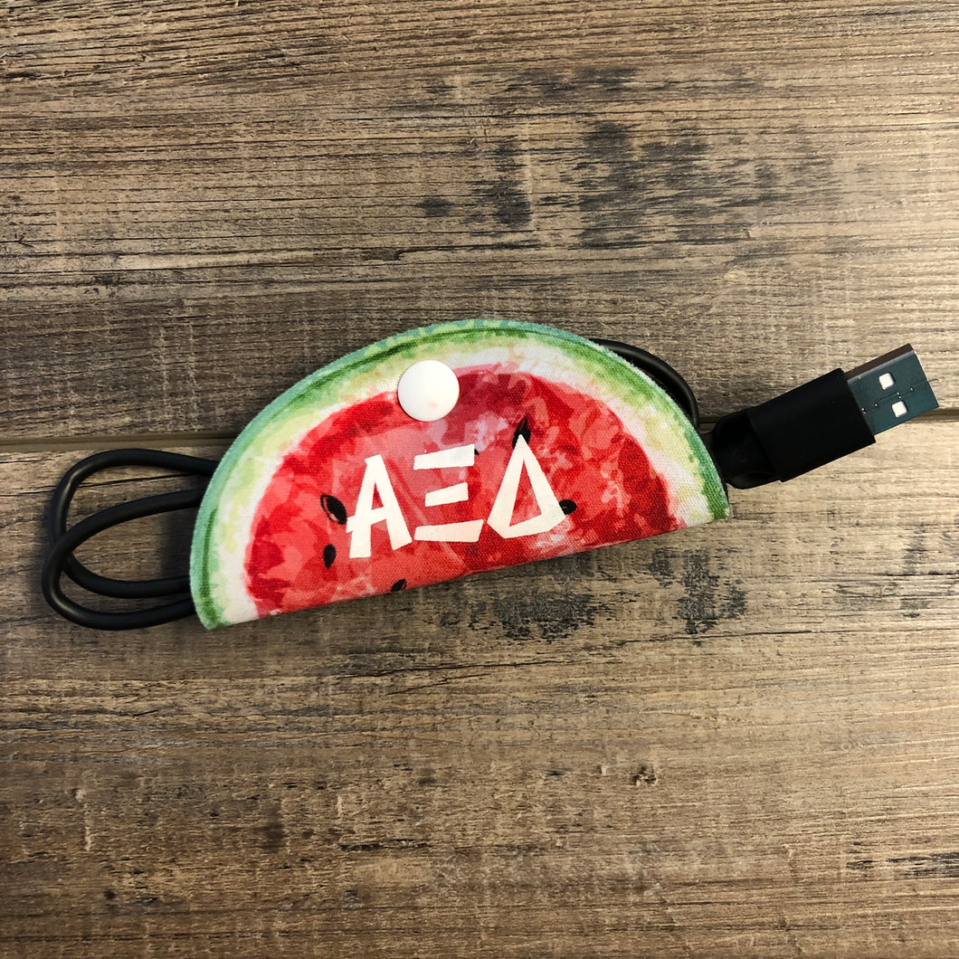 Alpha Xi Delta  — Watermelon Wire Wrap