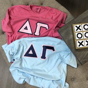 Delta Gamma - Comfort Colors Stitch