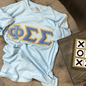 Phi Sigma Sigma - Comfort Colors Stitch