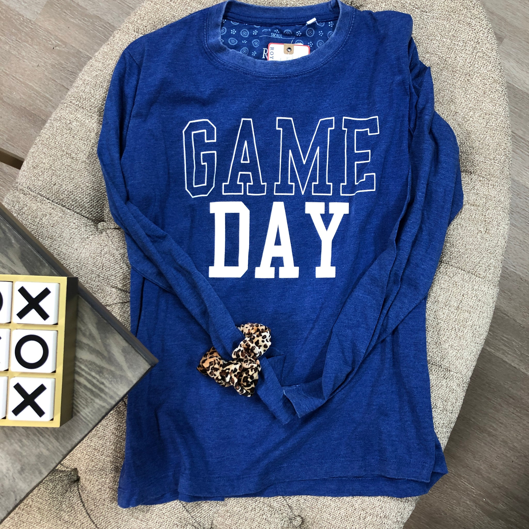 GAME DAY FAN Long Sleeve Tee