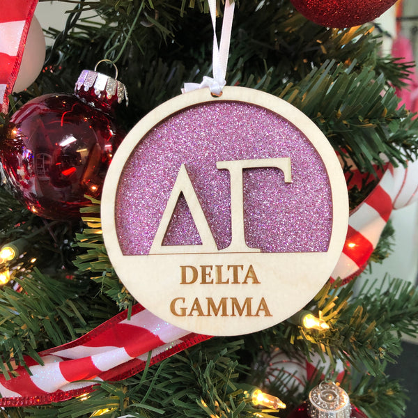 Delta Gamma - Holiday Ornament