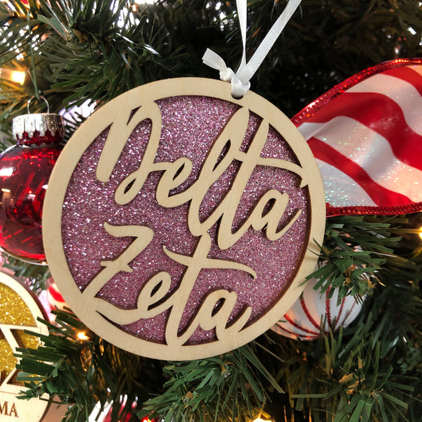 Delta Zeta - Holiday Ornament