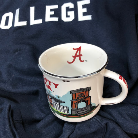 University of Alabama Vintage Campfire Mug