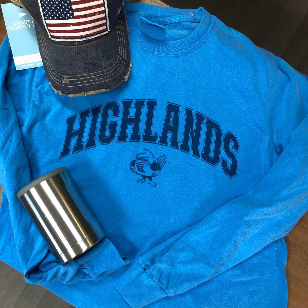Highlands Sporty Long Sleeve Tee