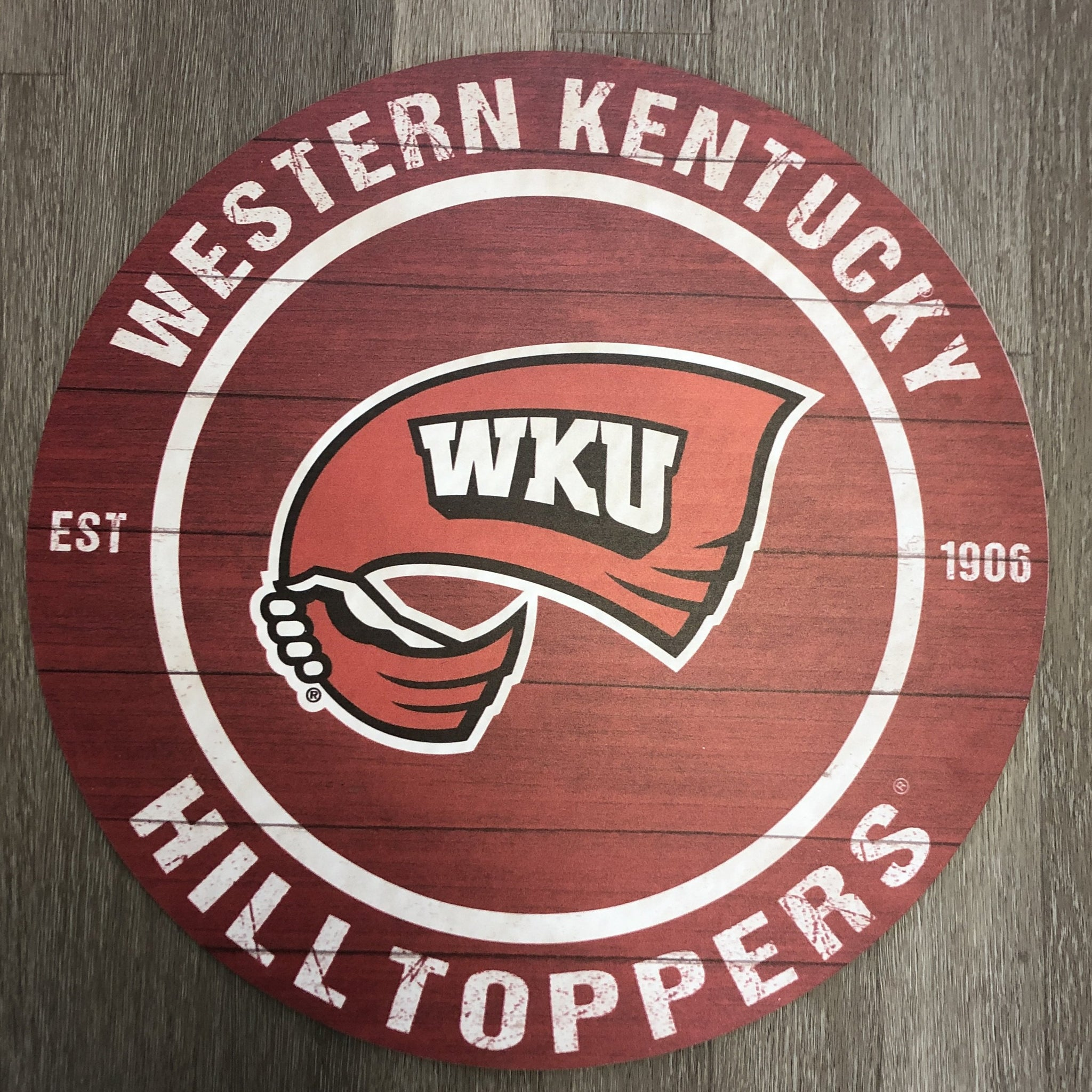 Western Kentucky Hilltoppers 20x20 Indoor/Outdoor sign