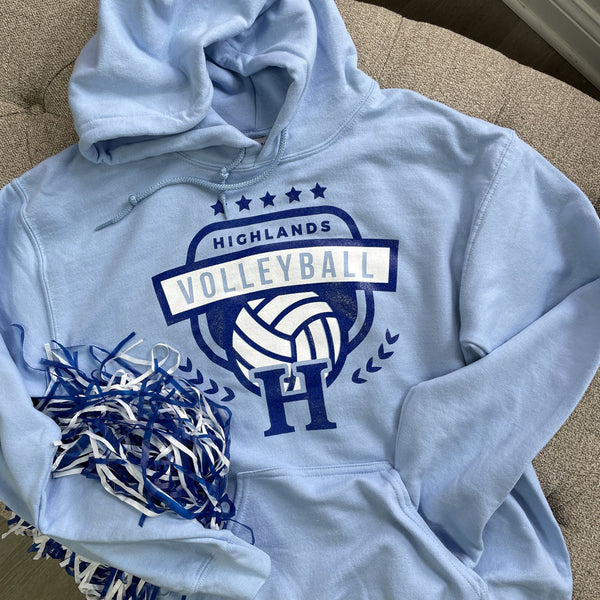 Highlands Volleyball Hoodies