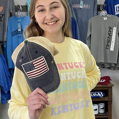 Kentucky Pastel Long Sleeve Tee